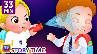 Cussly Learns To Save Water + Many More ChuChu TV Good Habits Bedtime Stories For Kids
