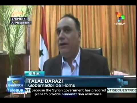 Syria continues to provide humanitarian aid: Homs Governor
