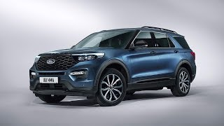 The All-new Ford Explorer Plug-In Hybrid