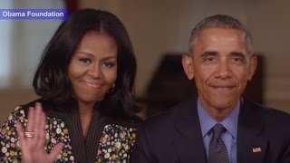 Obamas Goodbye Message as They Leave the White House | ABC News