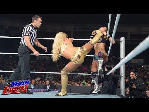 AJ Lee vs. Summer Rae: WWE Main Event, Aug. 5, 2014