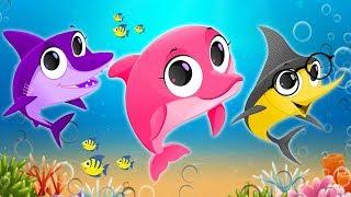 Baby Shark Dance Sing and Dance - Nursery Rhymes & Kids Songs for Children | Animal Songs for Kids