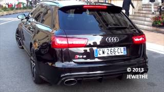 BRAND NEW 2013 Audi RS6 Avant C7 in Monaco! Start up and Sound! 1080p Full HD