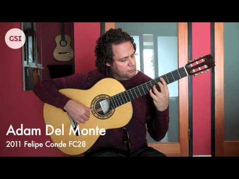 Adam Del Monte - 2011 Felipe Conde negra: Flamenco Guitar at Guitar Salon International