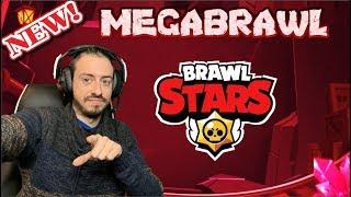 BRAWL STARS | NUEVO MAPA DE MEGABRAWL | JUGANDO CON LOS 22 BRAWLERS