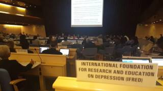 Graham Thornicroft speaks at WHO