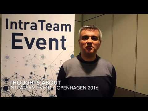 IntraTeam Event Copenhagen 2016 - Richard Gera / GlaxoSmithKline