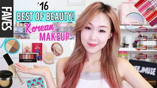 2016 BEST OF BEAUTY: KOREAN MAKEUP! (BB Cushions, Concealers, Palettes, Tints & more)   meejmuse