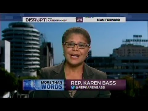 Rep. Karen Bass discusses the GOP's proposed cuts to food stamps