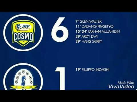 HIGHLIGHT COSMO (6) Vs (1) DUMAI •17/03/2018
