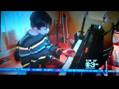 Chris Suarez Piano Composer CBS NEWS March 2, 2011 with Nicole Brewer