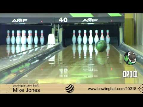 Lane #1 Pearl Droid Bowling Ball Reaction Video by bowlingball.com