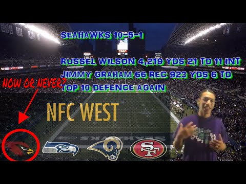NFL NFC WEST 2016 REVIEW / 2017 PREVIEW..... SO YOU THINK YOU KNOW SPORTS