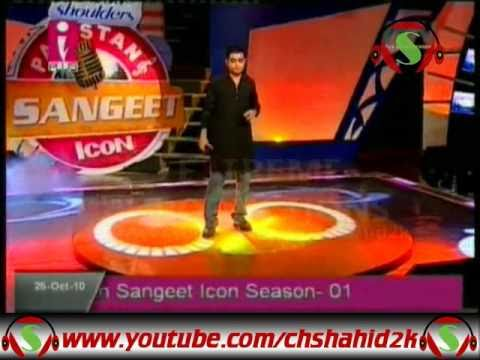 M Afzal Paniyon Main Pakistan Sangeet Icon 1 Elimination 10