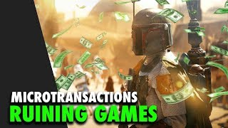 The war on Microtransactions and Loot Boxes