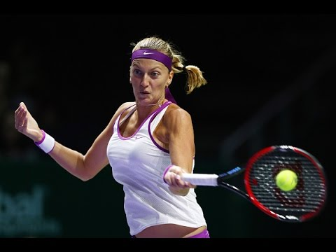 Petra Kvitova vs Lucie Safarova | 2015 WTA Finals Highlights