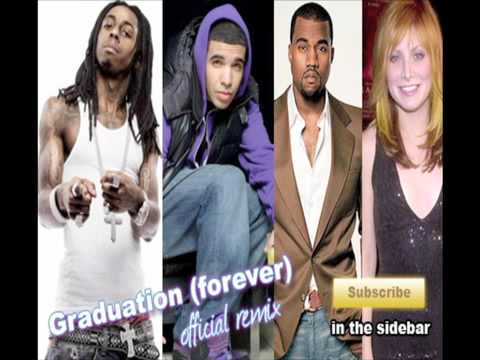 Vitamin C feat Lil Wayne, Drake, and Kanye - Graduation Song (forever) OFFICIAL REMIX!!!