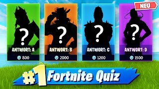 LEGENDÄRE LUCKY QUIZ CHALLENGE in Fortnite ❓