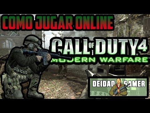 Como jugar online el Call Of Duty 4 Modern Warfare HD 2015 RAPIDO SIN PROGRAMAS