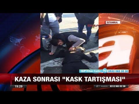 """Kaza sonrası """"Kask Tartışması"""" - 19 Ocak 2018"""