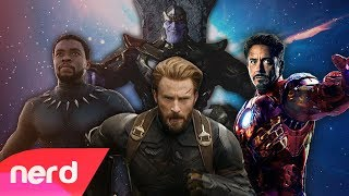 Avengers: Infinity War Rap Battle | #NerdOut ft DaddyPhatSnaps, Dan Bull, JT Music & More
