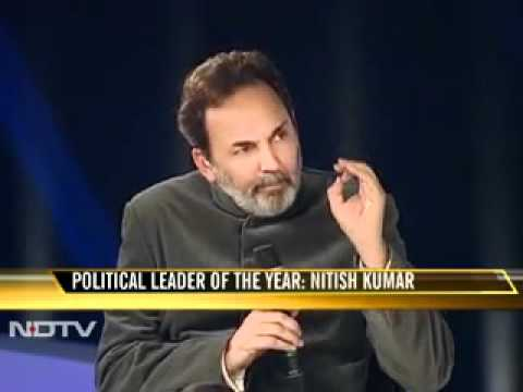 NDTV's Politician of the Year 2010: Nitish Kumar, BIHAR CM