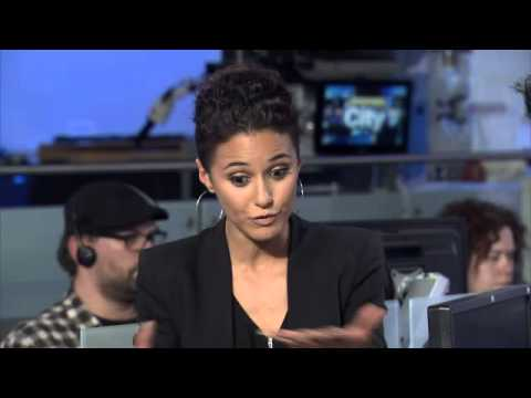Raw video: Actress Emmanuelle Chriqui on future 'Entourage' movie