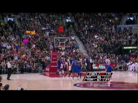 The Jeremy Lin Show Vs. Toronto Raptors (2/14/12)