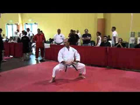 hanshi joe anon 1st place goju ryu seiyunchin kata forms u