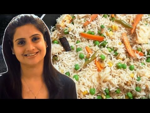Vegetable Pulao / Rice Pulav with Vegetables