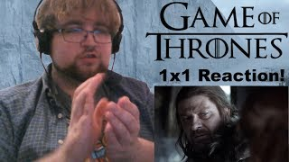 """Game of Thrones (1x1): """"Winter is Coming""""   Reaction"""