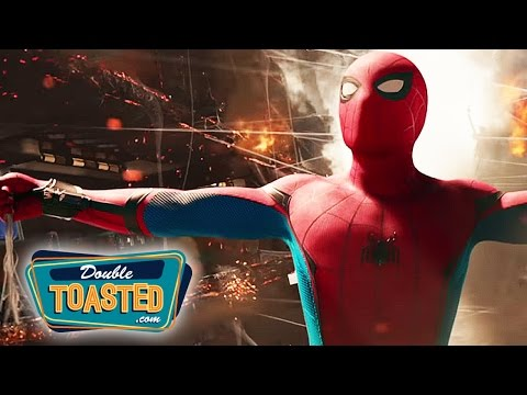 SPIDER MAN HOMECOMING 2017 MOVIE TRAILER #2 REACTION - Double Toasted Review