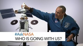 #AskNASA┃ Who Is Going with Us?