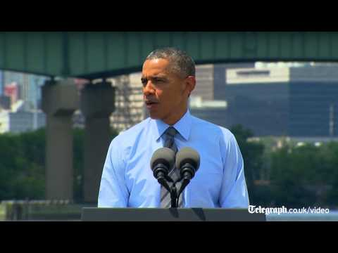 Barack Obama: Malaysian plane crash in Ukraine a 'terrible tragedy'