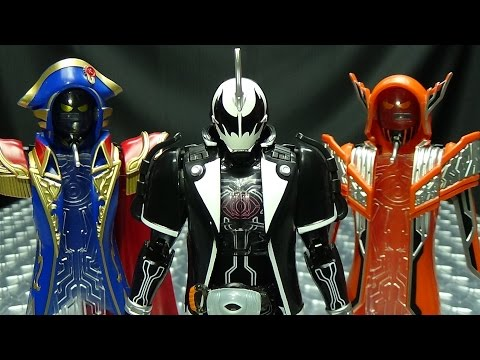 Kamen Rider Ghost Ghost Change Series DARK GHOST. NAPOLEON & DARWIN SET: EmGo's Reviews N' Stuff