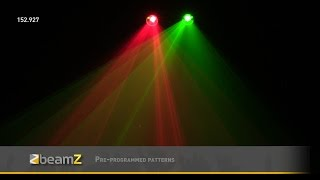 BeamZ Methone 3D Laser R/G 2Way DMX  152.927