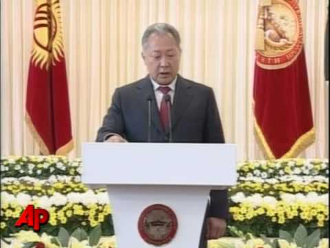 Kyrgyz President Inaugurated for Second Term