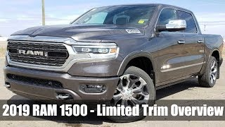 2019 RAM 1500 Limited Overview | All-New 2019 RAM 1500 Lineup - Available at Sherwood Dodge