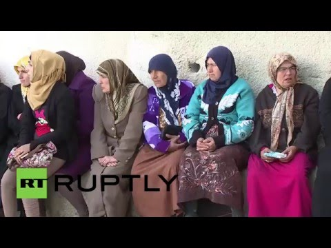 Syria: Humanitarian aid convoy reaches Turkmen village in Latakia