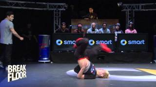 Marcio vs. Yoshi | Break The Floor 2012