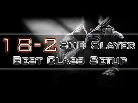 COD Black Ops 2: BEST SnD Rushing Class Setup (BO2 Gameplay/Commentary)