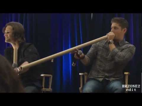 Funny Supernatural Convention Moments! SPN