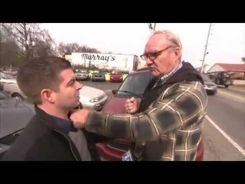 Old Man Punches Reporter