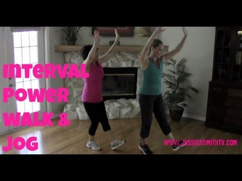 Walking Exercise - Free Full Length 30-Minute Indoor Interval Walk/Jog