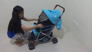How to assemble and use functions of IRDY Stroller code S0829A - 1