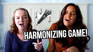 Harmonizing Game! | Emma Monden singing
