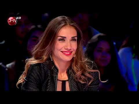 Hugo Macaya con su brillante voz emocionó al jurado de Talento Chileno - TALENTO CHILENO 2014