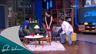 Nikita Willy dikejutkan kedatangan Sutradara Marully Ara