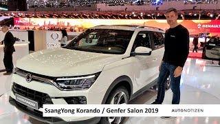 SsangYong Korando auf dem Genfer Autosalon 2019: Korea-SUV im ersten Check