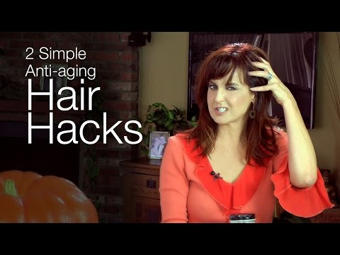 2 Simple Anti-aging Hair Hacks- kimTV